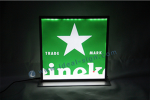 heineken custom led signs