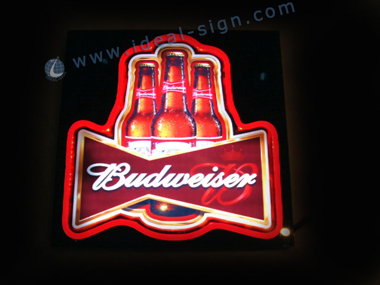Budweiser Beer Neon Sign Bar Light Neon Sign Power