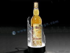 A buon mercato liquore bottiglia luce Display Shelf