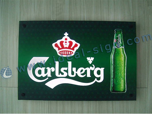 coca cola led sign