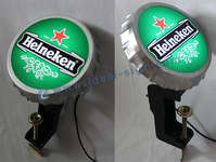 Heineken illuminato Bar Top apribottiglie