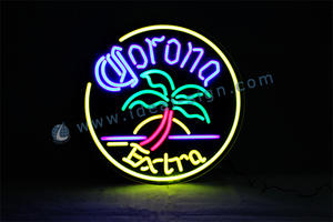 Personalized Corona Extra neon light beer signs for wholesale