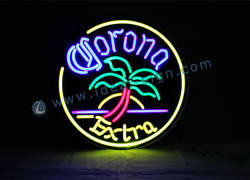 LED Neon Corona Extra Bar Sign with Dia 50cm