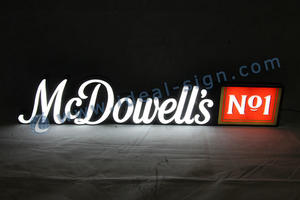 Custom LED neon signs 3D effect letter shop signs neon bar signs