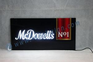 Cristal Led Magro LED Sign Para Bar Decoração Board
