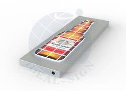 Puzzle personalizzato dell'interno ha condotto i segni della scatola chiara segnaletica lampeggiante per display
