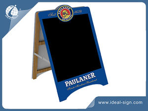 China supplier of Advertising Board A Frame Sidewalk signs with private brands