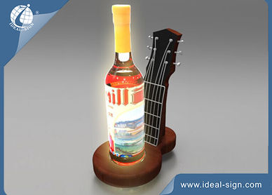 led bottle presenter