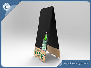 OEM/ODM Marketing Writing Boards With UV Printing Beer Brands