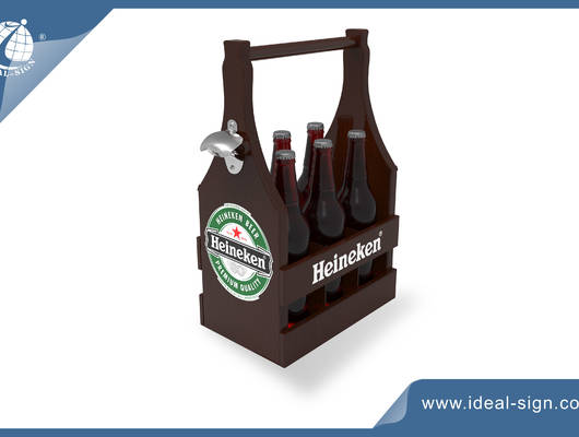 wooden beer crate