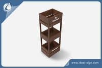 Customized Wooden Wine Rack for Display Wine/ Liquor
