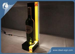 Bar / Clube Liquor Bottle Shelf Display Glorifier Com Luzes LED