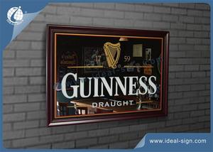 Antigo Guinness Bar Mirror For Atacado