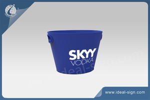 wholesale custom made plastic ice beer bucket for wholesale with factory price wholesaler