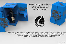 Gift Box for Wine, Champagne or Other Liquor