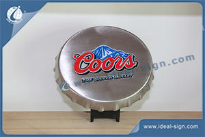 Custom Plastic Bar Top Coors Crown Top Bottle Opener wholesale