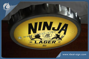 NINJA  Brand Bar Top Opener Illuminated By LED And A Caps Holder For Japanese Markets