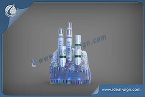 Customize Iceburg Shape Liquor Cans Holder For Displaying