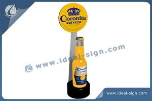 China supplier for acrylic light up liquor bottle display stand led liquor glorifier