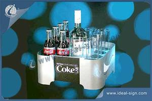 Coca Cola Iluminado Bandeja Bottle LED / Display Cup
