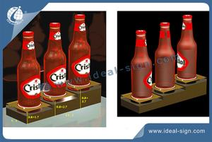 LED Bottle Glorifier Rack Acrylic Liquor Bottle Display