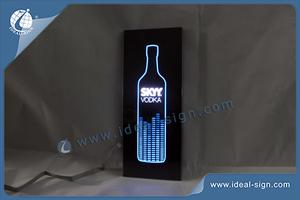 SKYY VODKA Slim LED Signs 45*18CM For Display Advertising