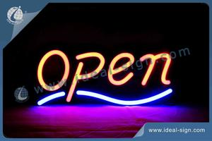 Rectangle Frame Open Face LED Fake Neon Signs / Indoor Neon Signs