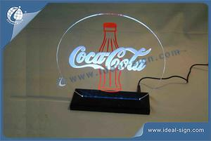 Coca Cola LED Edge-Lit Display / Customized Bar Signs