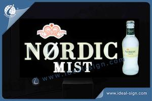 Nordic Mist LED Resin Sign / Light Box Manufacturers