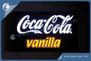 Coca Cola Indoor LED Resin Sign / LED Light Box