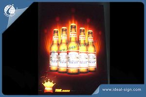 LED Flashing Indoor LED Signs Lightbox For Business Advertising Boards