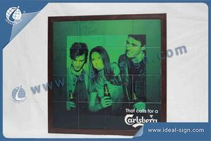 Wholesale Custom bar framed poster suitable for decoration