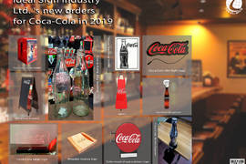 Ideal Sign Industry Ltd.'s  new orders for Coca-Cola in 2019