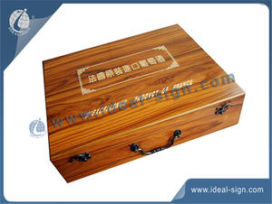 Classical Style Wooden Wine Box / Packing Box