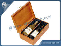 Wholesale Champagne Pine Wooden Senior Gift Box