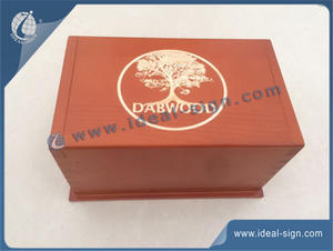 China handmade pine wood packing boxes wooden wine box manufacturer
