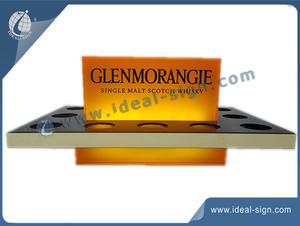 Custome LED serving tray clear acrylic serving tray for wholesale