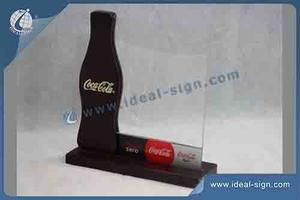 Coca Cola MDF Wood Menu Holder For Tables