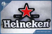 Heineken vacuumed formed light box
