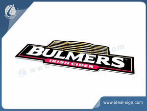 BULMERS Slim Light Box Lighted Bar Signs