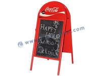 Outdoor-A Frame Bürgersteig-Zeichen für Coca Cola Anzeige