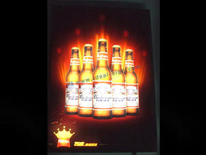 LED piscando Indoor LED Sinais Lightbox
