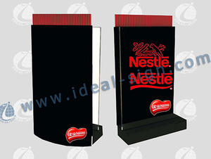 Wholesale promotional customize LED edge lit signs beer signs drink sings