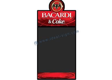 バーのメニュー黒板 屋内 led 看板 マーケティング黒板 ヴィンテージ広告黒板 メニュー黒板看板 屋外 led ライティング ボード 木枠記号 プラスチックフレーム記号 フレーム兆候を屋外の フレーム歩道記号