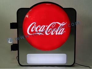 Coca-Cola termoformato Segno di dialogo visualizza