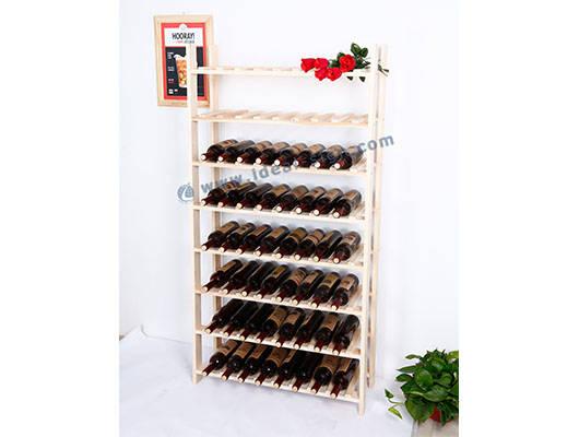 estante del vino personalizado soporte de botella de vino cajas de vino de regalo por mayor bastidores de vino para la venta Botellero madera estante del vino 9 botella botellero 12 botella botellero 10 botella bastidores de barras para botellas bastidores de vino personalizada