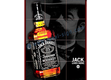 framed poster