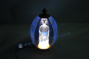 Russo Forma Stile Egg glorificatore Bottiglia LED