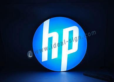 LED vacuum formed sign