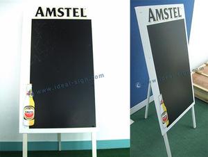 placa AMSTEL Publicidade